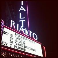 Photo taken at The Rialto Theatre by Kristi P. on 10/27/2012