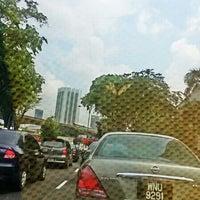 Photo taken at Jalan Syed Putra by ALLYA E. on 4/28/2014
