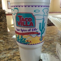 Photo taken at Taco Villa by Carrie G. on 7/26/2014