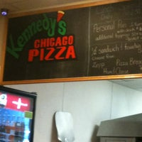 Photo taken at Kennedy's Chicago Pizza by April on 11/10/2012