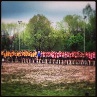 Photo taken at Rugby Rho 1947 by Luca C. on 4/21/2013