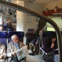 Photo taken at Gare SNCF de Roanne by Matthew K. on 4/28/2017