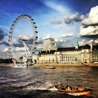 Photo taken at The London Eye by Viviane S. on 9/2/2013