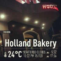 Photo taken at Holland Bakery by Andrey M. on 2/15/2013