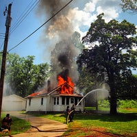 Photo taken at Saylorville Church by Justin C. on 8/2/2014