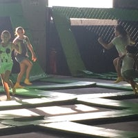 Photo taken at Jump Mania by henrique s. on 1/2/2015