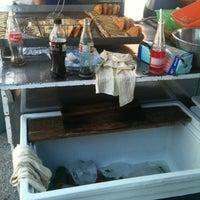 Photo taken at Tacos & Quecas de la Cruz Roja by Raul R. on 12/23/2012
