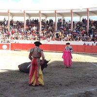 "Photo taken at Plaza De Toros ""Raul Gonzalez"" Tetla by Erick P. on 7/31/2016"