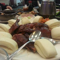 Photo taken at Canton Dim Sum & Seafood Restaurant by Hau T. on 1/28/2013