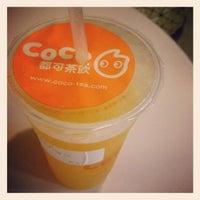 Photo taken at CoCo Fresh Tea & Juice by Hau T. on 12/3/2012