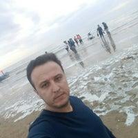 Photo taken at Genaveh Beach by Esmaeil E. on 3/24/2017