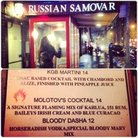 Photo taken at Russian Samovar by Daria K. on 2/12/2013