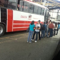 Photo taken at Terminal De Buses TUASA (Alajuela) by Jaikel B. on 10/10/2013