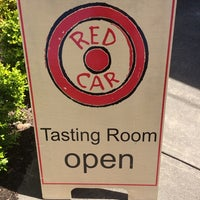 Photo taken at Red Car Winery by Michelle H. on 4/6/2014