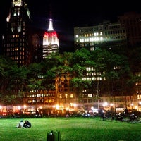Photo taken at Bryant Park by Ryan W. on 9/26/2013