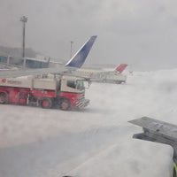 Photo taken at Akita Airport (AXT) by pimlico on 2/21/2013