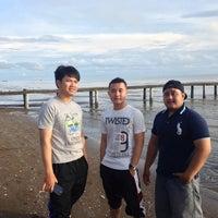 Photo taken at Pantai Pakis Jaya by udin sulisTiyo P. on 4/6/2014