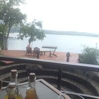 Photo taken at Jicaro Island Ecolodge by Karen on 6/29/2014