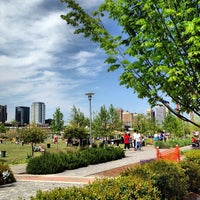 Photo taken at Railroad Park by Deon G. on 4/21/2013