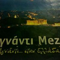 Photo taken at Agnanti Meze by Jenn P. on 9/26/2012
