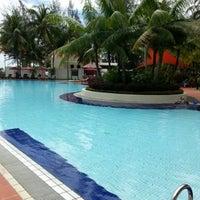 Photo taken at Miri Marriott Resort & Spa by Waltez W. on 8/3/2013
