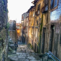 Photo taken at Miradouro da Vitoria by Diogo M. on 2/19/2014