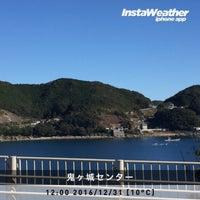 Photo taken at 鬼ヶ城センター by Rosmarinus on 12/31/2016