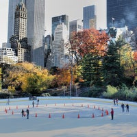Photo taken at Wollman Rink by Michael R. on 11/4/2013