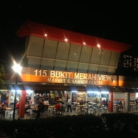 Photo taken at Bukit Merah View Market & Food Centre by Jenny N. on 11/1/2012