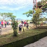 Photo taken at Stadion Maesa Tondano by MeiDewi on 10/6/2017