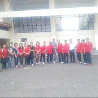Photo taken at Stadion Maesa Tondano by MeiDewi on 10/10/2014