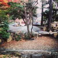 Photo taken at 旧国泰寺愛宕池 by Massara Nati …. on 1/22/2014