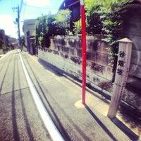 Photo taken at 谷畑坂 by まさ・なち on 8/27/2013