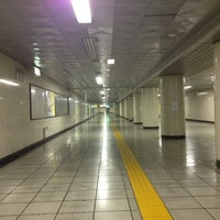 Photo taken at Ginza-itchome Station (Y19) by まさ・なち デ. on 8/8/2013