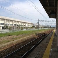 Photo taken at Ikuji Station by Naoko T. on 5/18/2013