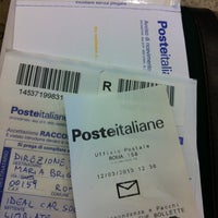 Photo taken at Poste Italiane by Nat *. on 3/12/2013