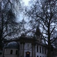 Photo taken at St Marylebone Parish Church Gardens by Julia A. on 1/18/2013