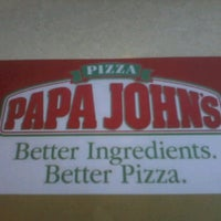 Photo taken at Papa John's by ItsmeGrace J. on 1/20/2013