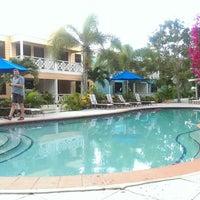 Photo taken at Buccaneer Beach Club by Dirk K. on 1/26/2014