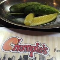Photo taken at Chompie's Restaurant, Deli, and Bakery by Casper H. on 2/14/2013