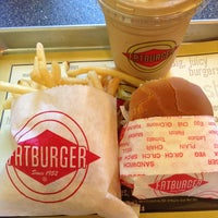 Photo taken at Fat Burger by Casper H. on 5/10/2013