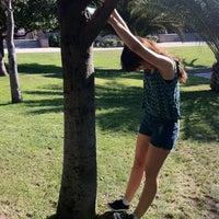 Photo taken at Parque Violeta Parra by Pascal R. on 10/25/2012
