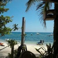 Photo taken at Lost Horizon Beach Dive Resort by Leila N. on 11/30/2012