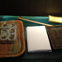 Photo taken at Dozo Sushi by Michael F. on 4/24/2013