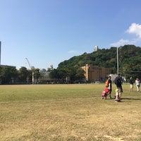 Photo taken at Tai Hang Tung Recreation Ground by tinthefatty on 11/23/2014