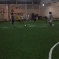 Photo taken at Kharisma Futsal by Ginanjar M. on 11/26/2013