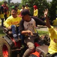 Photo taken at Alam Wisata Cimahi (AWC) by Yudi K. on 2/7/2015