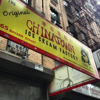 Photo taken at The Original Chinatown Ice Cream Factory by Lee A. on 8/25/2012