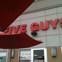 Photo taken at Five Guys by Geebus D. on 6/17/2011