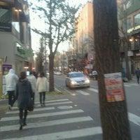 Photo taken at Garosu-gil by 해바라기 on 11/24/2011